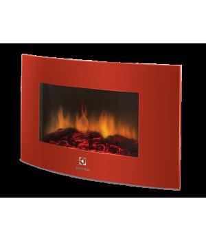 Электрический камин Electrolux EFP/W 1200URLS красный
