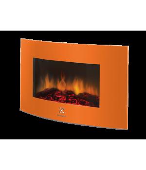 Электрический камин Electrolux EFP/W 1200URLS оранжевый
