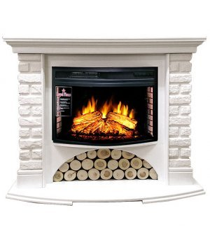 Royal Flame Village кирпич белый с очагом Dioramic 25 FX