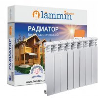 Радиатор биметаллический Lammin PREMIUM BM500-80-8
