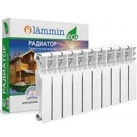 Радиатор биметаллический Lammin ECO BM350-80-10