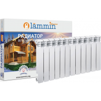 Радиатор биметаллический Lammin PREMIUM BM500-80-12