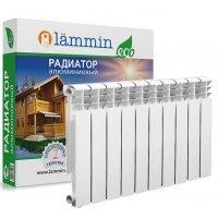 Радиатор алюминиевый Lammin ECO AL500-80-10