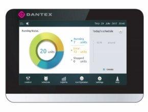 Новый централизованный контроллер DANTEX с сенсорным экраном