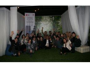 Участники Всероссийского молодёжного форума «Селигер-2012» познакомились с технологиями заботы о здоровье в рамках стажировки в штаб-квартире компании LG Electronics