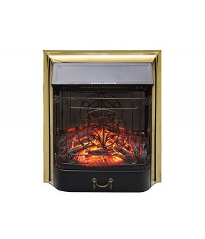 Электрокамин Royal Flame Majestic FX M Brass/Black
