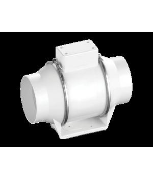 Вентилятор канальный круглый в пластиковом корпусе Ballu Machine Flow 100